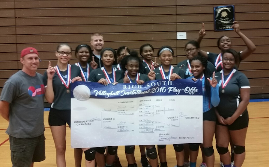 Volleyball wins Rich South Tourney