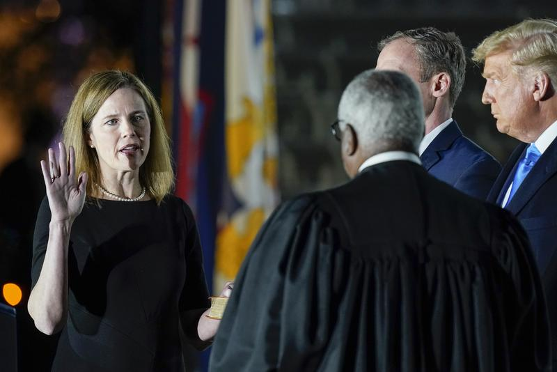Amy Coney Barrett confirmed as Supreme Court Justice amidst controversy surrounding nomination
