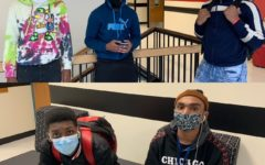 STEM students remain vigilant in wearing their masks.